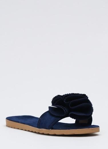 Shoes1441 Terlik Lacivert